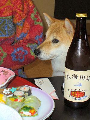 おビールじゃんじゃん追加ね♪