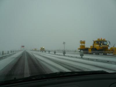 新潟は雪。