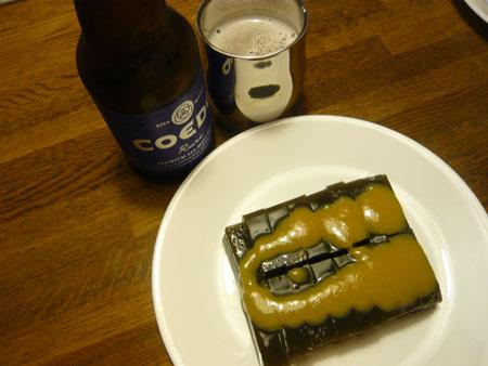 新潟の夏・・・羊羹に味噌汁。。。ウソ!